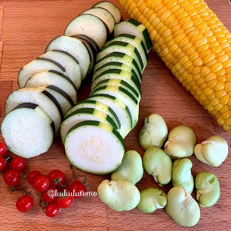 夏野菜のチーズパイの作り方