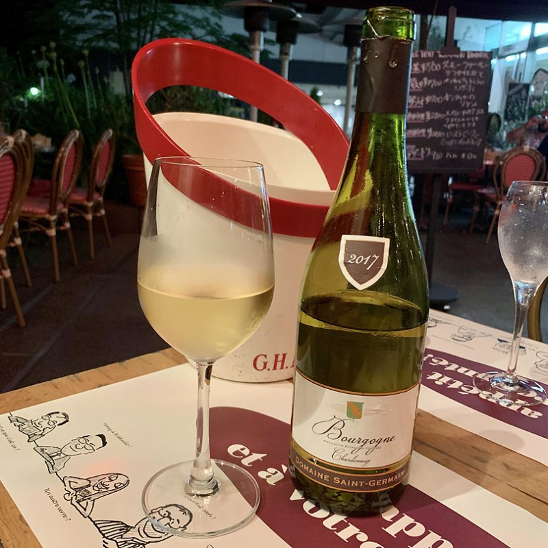 2017 Bourgogne Blanc Dom.St-Germain ブルゴーニュ・ブラン・ドメーヌ・サンジェルマン/白ワイン