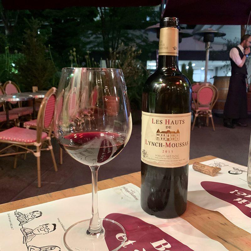 2014 Les Hauts de Lynch-Moussas Haut Medoc レ・オー・ド・ランシュ・ムーサ オー・メドック/赤ワイン