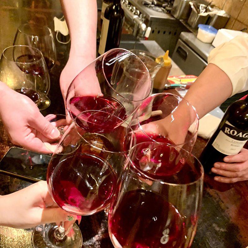 ワインが楽しいと、ごはんがもっと美味しくなる。