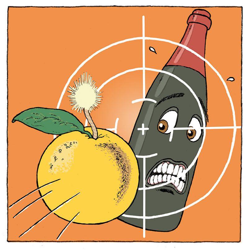 グレープフルーツはワインにとって爆弾である!