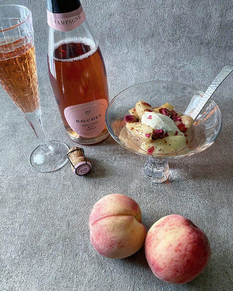 桃のアールグレイマリネ 作り方のポイント