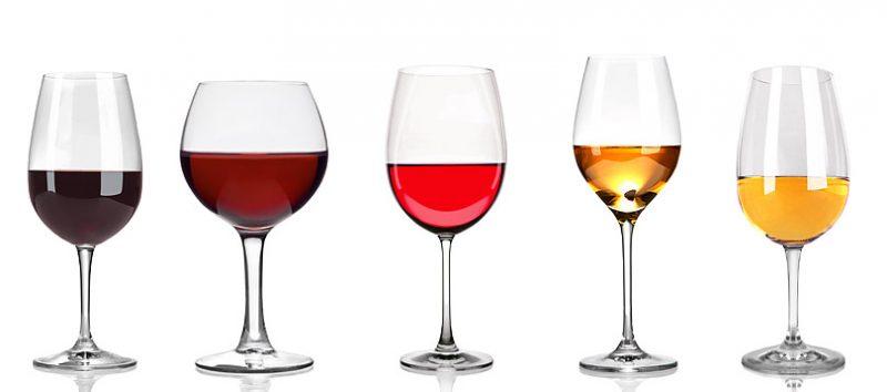 ワイングラスの種類と選び方・お手入れ方法