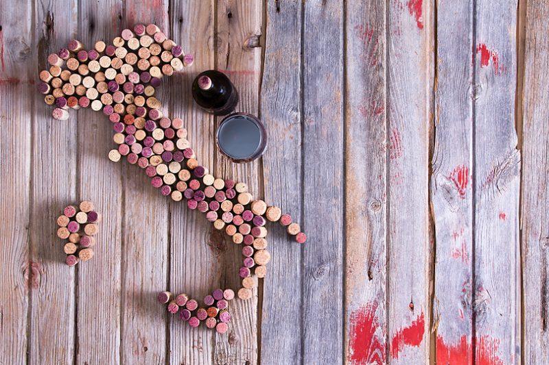 イタリアワインの代表的な産地