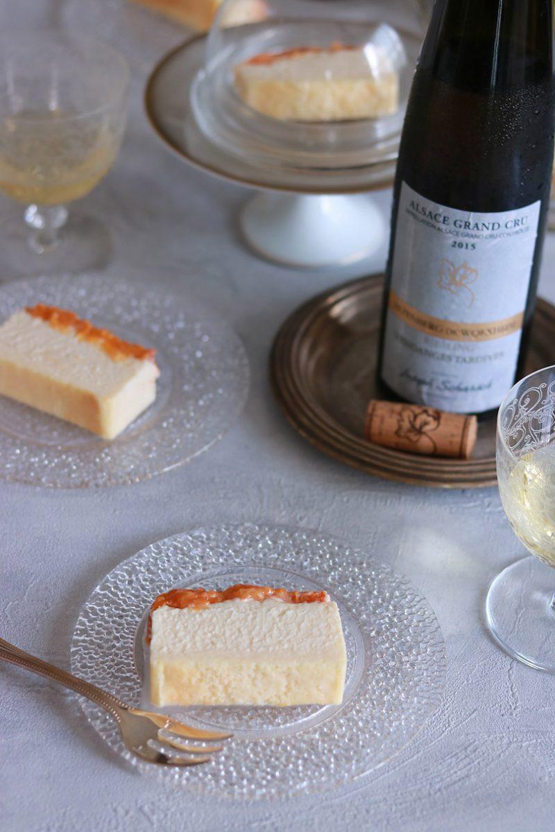 アプリコットのチーズテリーヌ 作り方のポイント