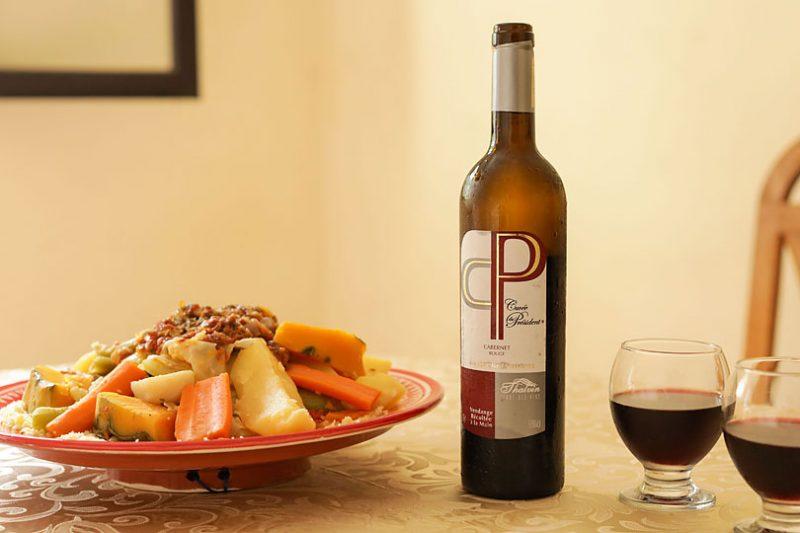 モロッコでポピュラーなワインCP(セーペー)