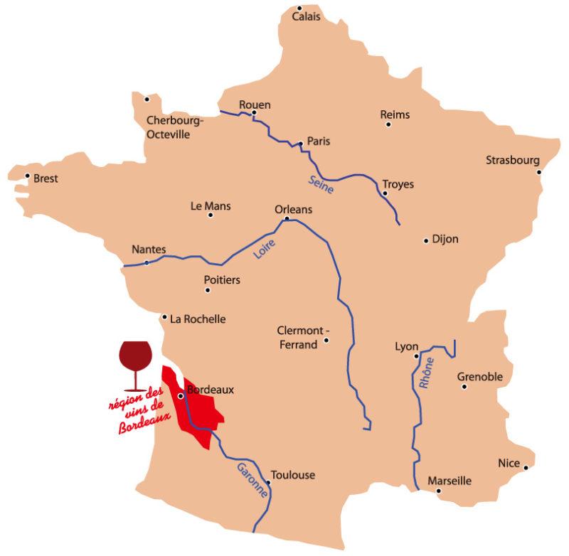 ボルドーの代表的な地区