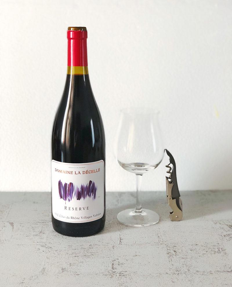 LA DECELLE LE CARE Cote du Rhone Village Rouge ラ・デセル ル・キャレ コート・デュ・ローヌ・ヴィラージュ ルージュヴァルレア2016/赤ワイン