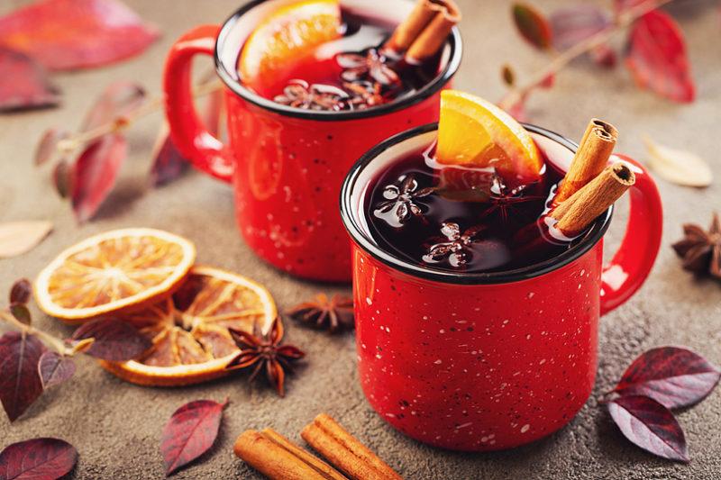冬にピッタリ、ホットワインで美味しく温まろう