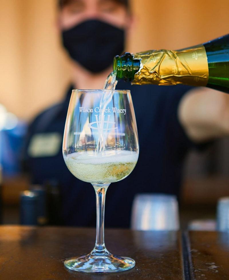 アーモンドスパークリングワイン/Almond Sparkling Wine