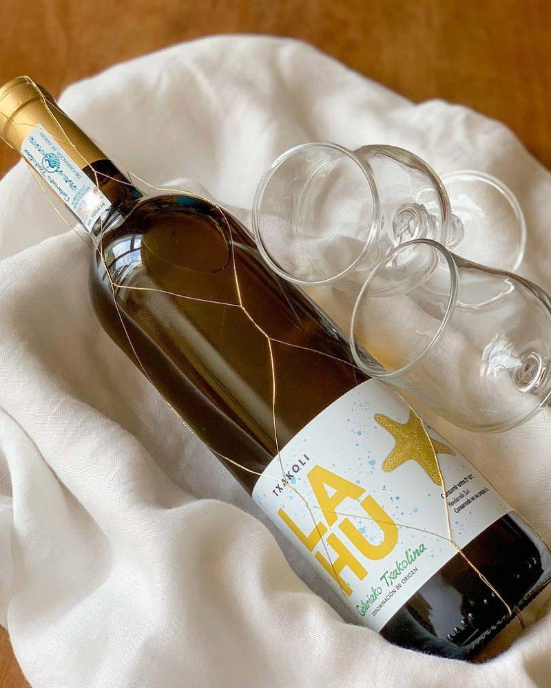 チャコリ ラウ オン リーズ Txakoli LAHU on Less/白ワイン