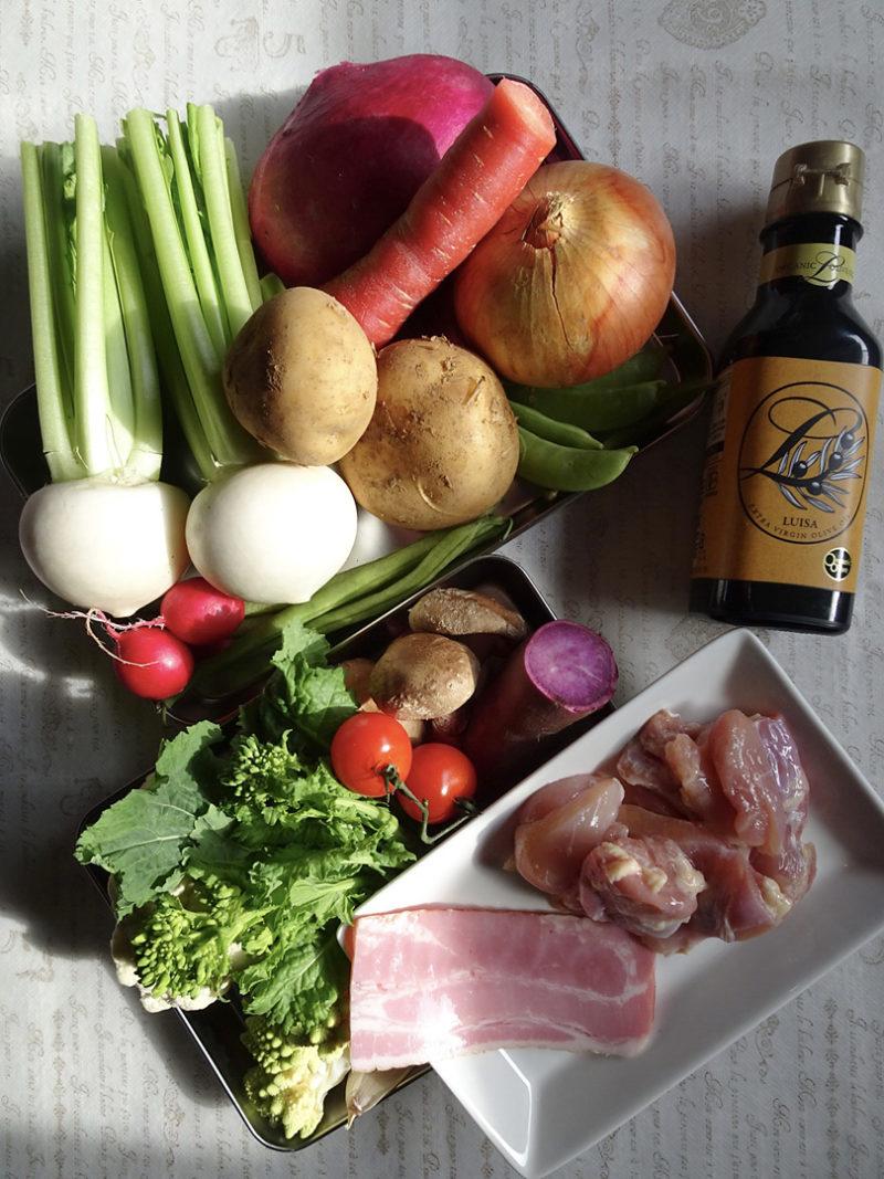 チキンと彩り野菜のポトフの作り方