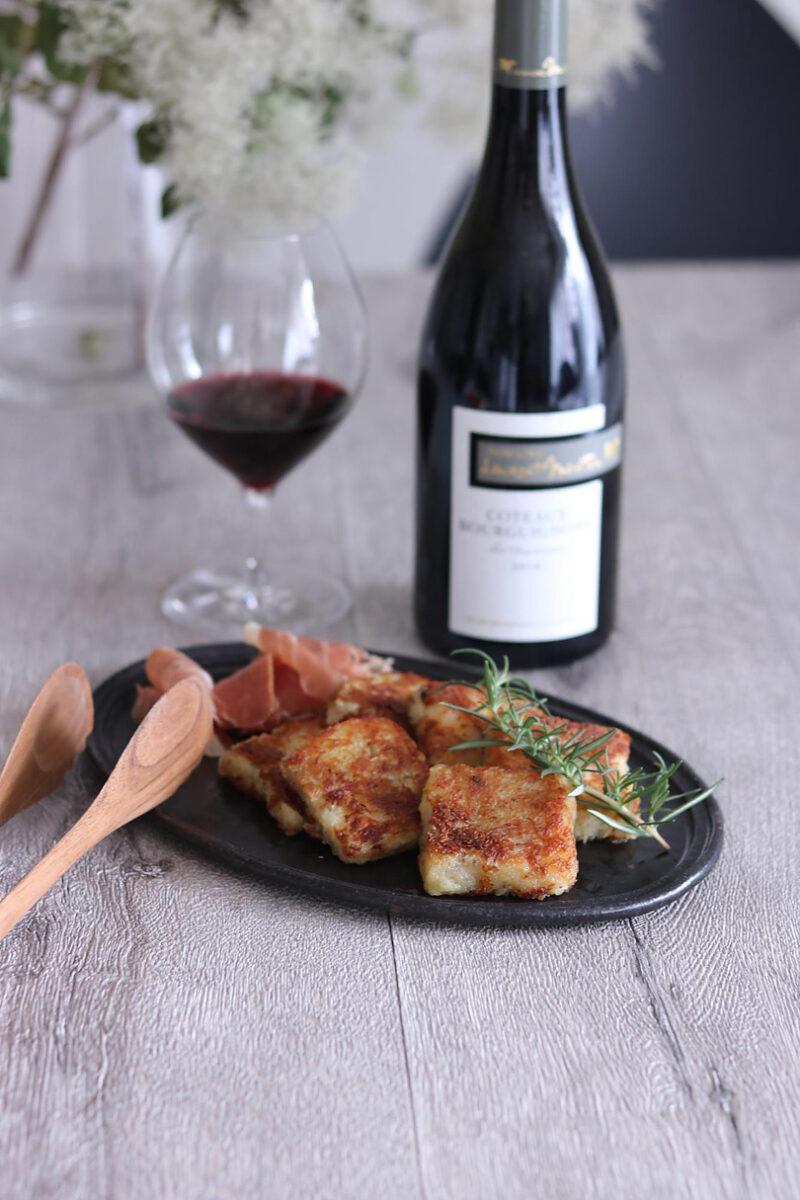 赤ワインに合う 簡単!美味しいじゃがいものガレット